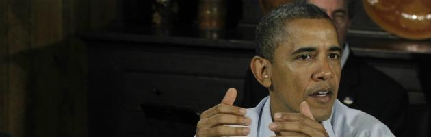 """Barack Obama: """"La crisi dell'Eurozona ha impatti negativi sull'economia Usa"""""""