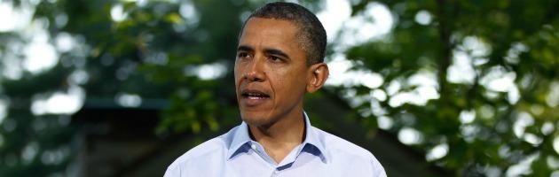 """Obama: """"L'uso delle armi chimiche in Siria sarebbe un tragico errore"""""""