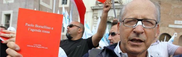 """Trattativa Stato-mafia, Borsellino: """"Impeachment per Napolitano"""""""