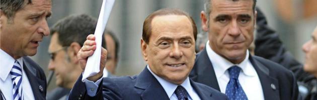 """Berlusconi: """"Mi ricandido"""". Gelo Pdl, poi Alfano dice: """"Ti sosteniamo"""""""