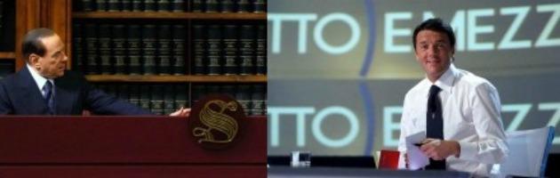 Il progetto di rinascita del Cavaliere: lista civica nazionale e Renzi premier