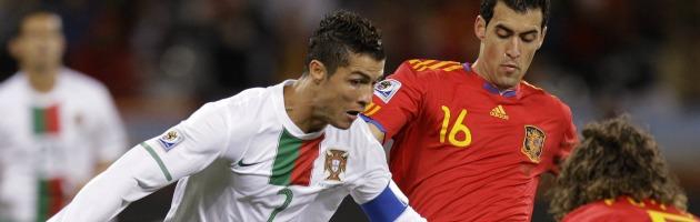 Euro 2012 – Stasera Portogallo-Spagna, il derby iberico che vale la finale