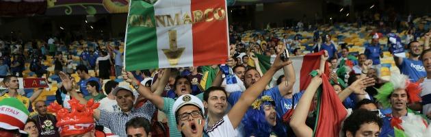 Euro 2012 – L'Italia è la nazionale con meno tifosi al seguito