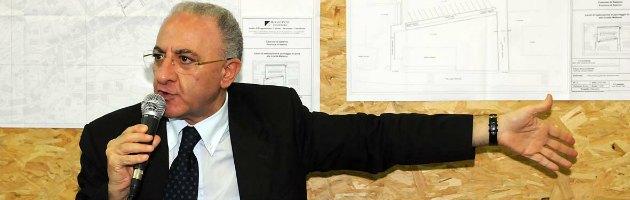 """Il sindaco di Salerno De Luca rinuncia alla prescrizione: """"Voglio assoluzione piena"""""""