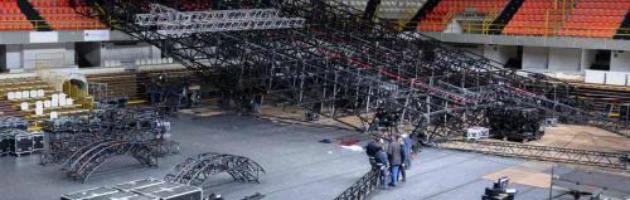 """Morto nel crollo del palco della Pausini, 2mila euro alla famiglia. Inail: """"Anticipo"""""""
