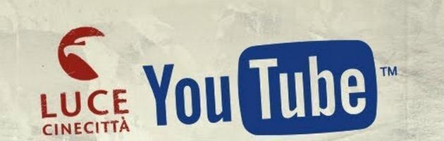 L'Istituto Luce sbarca su Youtube: 30mila video sulla storia d'Italia