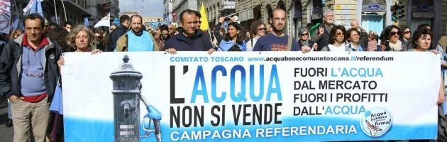 Riducono la bolletta per rispettare il referendum sull'acqua. Hera chiude i rubinetti