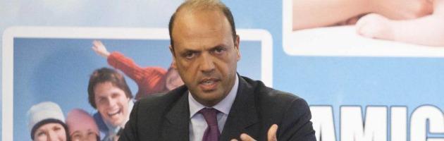 """Elezioni, Alfano (Pdl): """"No a larghe intese. Berlusconi vuole vincere e governare"""""""