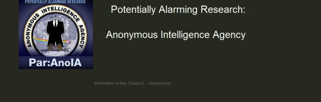 Nasce Par:AnoIA, wikileaks Anonymous. Formato dei dati accessibile