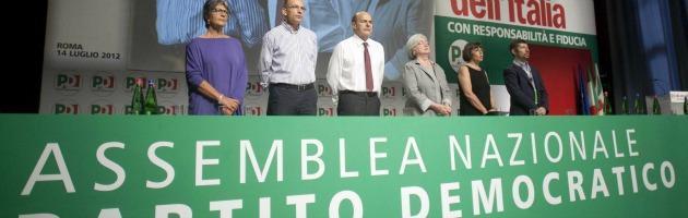 Disastro all'assemblea Democratica Bersani in balia delle correnti del partito