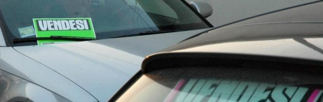 Crollano le immatricolazioni di auto. A giugno giù del 24,42 per cento