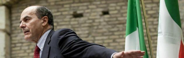 """Bersani: """"Stop al passato, voglio un centrosinistra di governo"""""""
