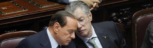 """Berlusconi candidato premier, Bossi: """"Se fa saltare Monti va bene"""""""