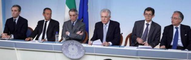 """Monti: """"Il contagio da altri Paesi è in corso. Dobbiamo farcela con le nostra forze"""""""