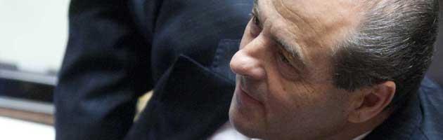 Il leader dell'Italia dei Valori Antonio Di Pietro