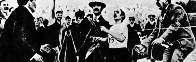 Storia e storie dei Giochi: il mito di Dorando Pietri, campione senza medaglia