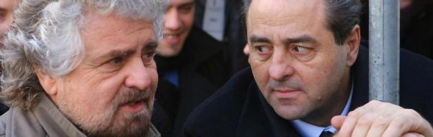 """Legge elettorale, Di Pietro apre a Grillo e Vendola. """"Pd e Pdl ci temono? Fanno bene"""""""