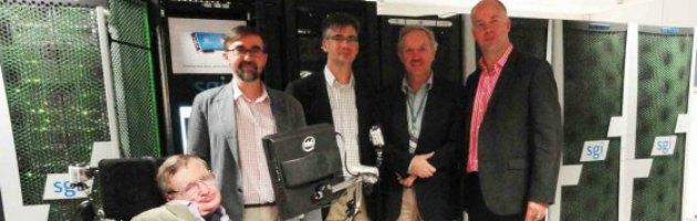 Il fisico Hawking presenta Cosmos il supercomputer che studierà l'Universo
