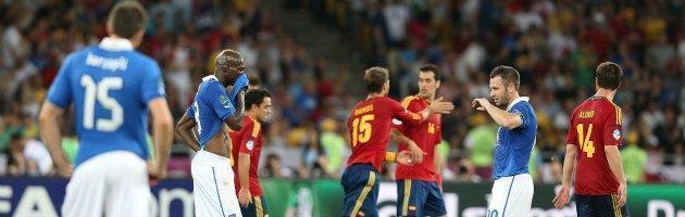 La Spagna umilia gli Azzurri, vince 4-0 e trionfa anche a Euro 2012