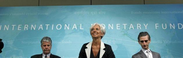 """Lagarde (Fmi): """"Crisi globale, colpiti anche i Brics"""". Giù le Borse europee"""