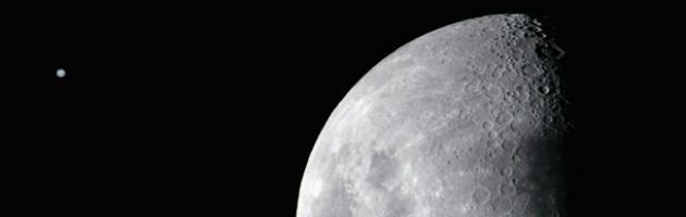 La Luna nata da scontro tra la Terra e un pianeta grande quanto Marte