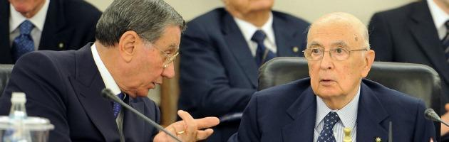 Stato-mafia, Napolitano al telefono con Mancino Che cosa si saranno detti?
