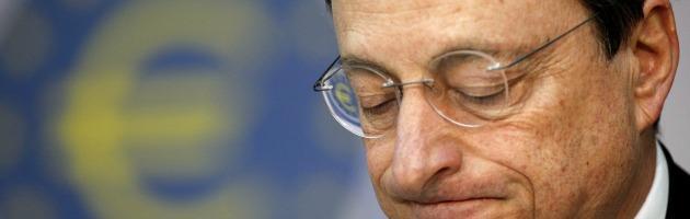 """L'allarme della Bce: """"Disoccupazione e debito mettono a rischio la ripresa"""""""
