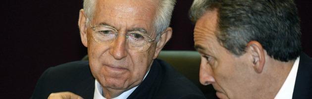 """Crisi, Monti da Bruxelles: """"Escludo mia candidatura nel 2013"""""""