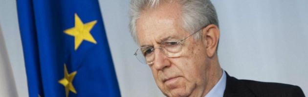 """Monti a Napolitano: """"Il mio governo ha fatto quello che ha potuto"""""""