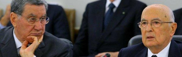 Trattativa, gip si riserva su distruzione intercettazioni Mancino Napolitano