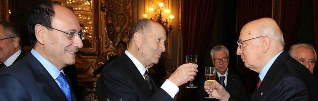 Paolo Grossi, Giorgio Napolitano, Renato Schifani