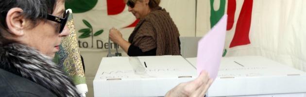 Primarie centrosinistra 2012, Bersani e Renzi verso il ballottaggio