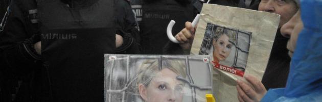 Finale Euro 2012, Monti e Rajoy a Kiev: vogliamo vedere la Timoshenko