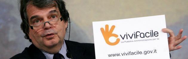 Spending review, gli incarichi a peso d'oro dell'ex ministro Brunetta? Nessun taglio