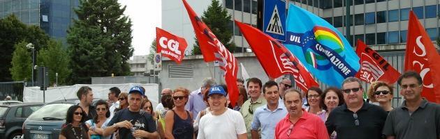 Mediaset esternalizza le sedi regionali. Lavoratori in sciopero per 4 ore