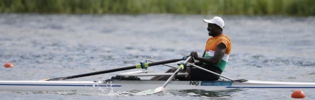 Londra 2012, il vero spirito olimpico rivive nel canottiere nigeriano Issaka