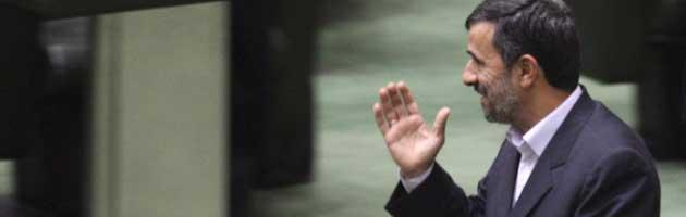 Il presidente iraniano Ahmadinejad