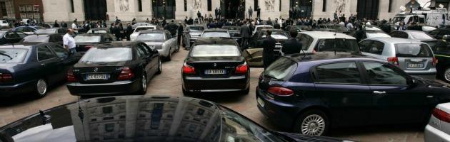 """Auto blu, risparmiati 280 milioni. """"Ma il 44% delle amministrazioni è in ritardo"""""""