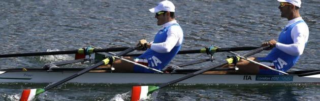 Londra 2012: Battisti e Sartori canottieri d'argento nel due di coppia