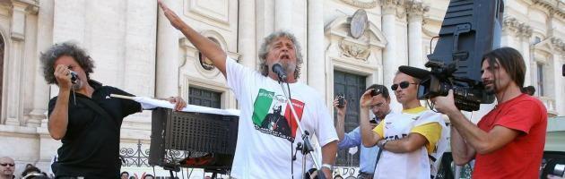 """Grillo, sul blog il """"peggior presidente della Repubblica"""" è Napolitano"""