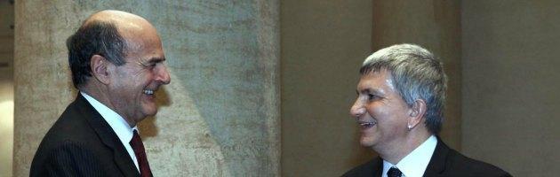 """Bersani Vendola e l'Udc. Il leader Sel boccia Di Pietro. L'ex pm: """"Tradisce i lavoratori"""""""