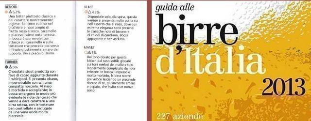 """Birre d'Italia 2013, Slow Food alla scoperta delle nostre """"bionde"""""""