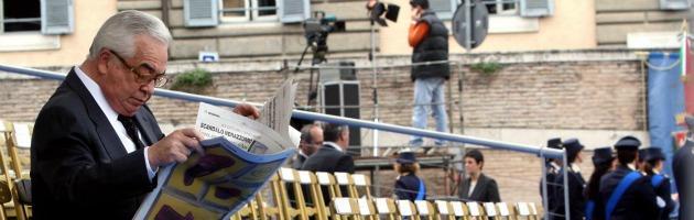 """Campobasso, Ciarrapico sotto inchiesta. """"Offese Napolitano con un editoriale"""""""