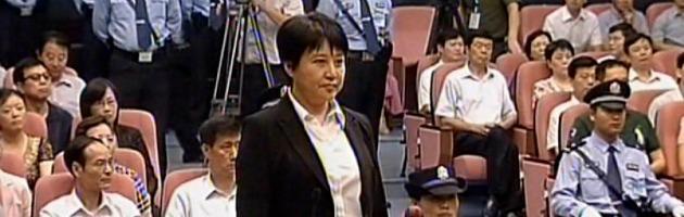 Cina, condannata a morte la moglie dell'ex leader del Partito comunista
