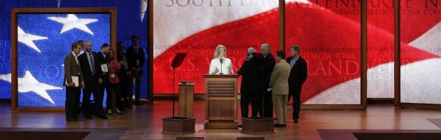 Convention repubblicana, Romney 'incoronato' sfidante ufficiale di Obama
