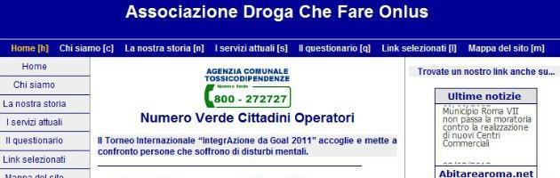 """Roma, via il numero verde anti-droga: """"Tagli al budget e motivi politici"""""""