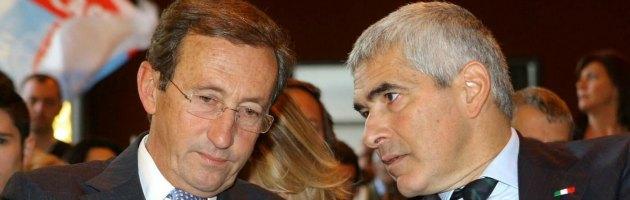 """Fini: """"Il Pdl? Versione più soffice dell'antipolitica di Grillo e Di Pietro"""""""