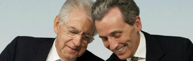 Crisi, Monti e Grilli preparano le misure taglia debito. A settembre il piano