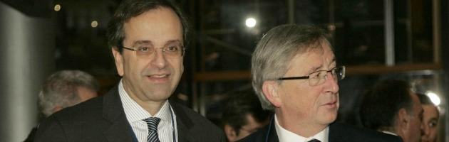 """Salvataggio Grecia, """"si decide a ottobre"""". Samaras: """"I tedeschi riavranno i soldi"""""""