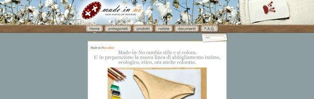 """""""Made in no"""", ecco la nuova linea di intimo biologico italo-brasiliano"""